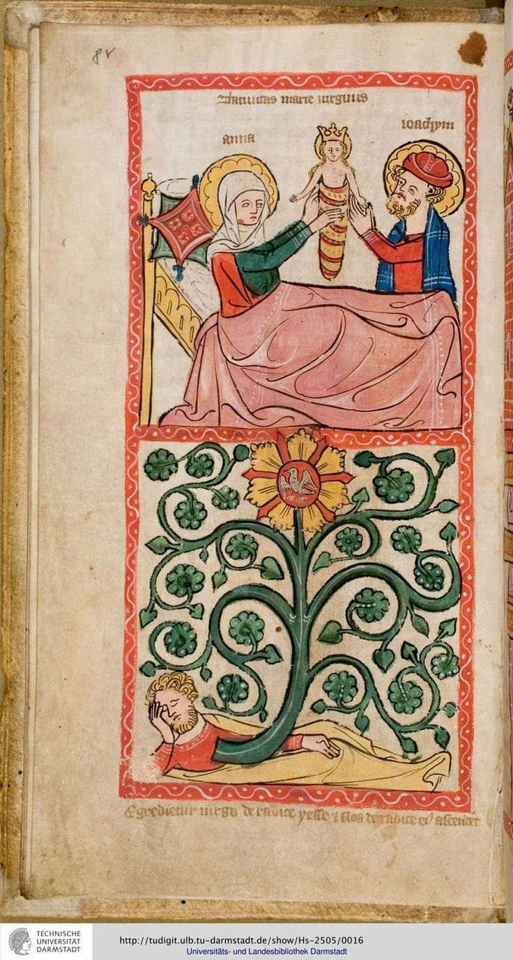 Speculum Humanae Salvationis or Mirror of Human Salvation, about 1360.