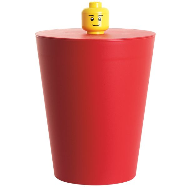 Room Copenhagen has designed a collection based on the imaginative world of The LEGO group to fill everyday life with fun. The LEGO Multi basket can be used for storage or as a recycle bin.