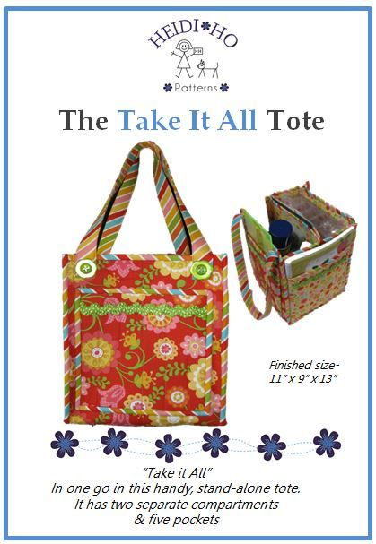 Take It All - In one go with this handy tote.