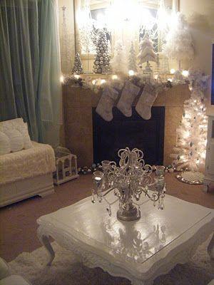 Shabby Chic Christmas Home Decor Ideas..