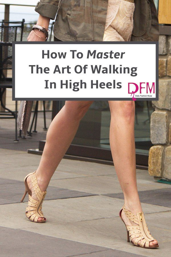 If you have always wanted to know the secret to walking gracefully in high-heeled shoes, click through to read my tips and tricks for mastering those high heels.