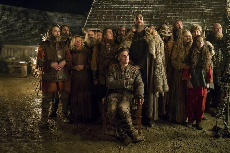 Vikings - Ivar the Boneless, Floki, Helga