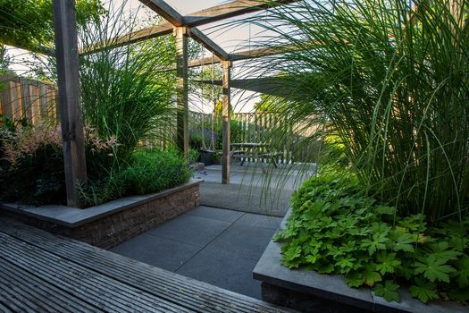 1000 images about tuin on pinterest gardens planters and decks - Tent tuin pergola ...