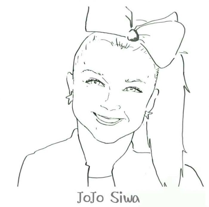 On Ecolorings Info Coloring Pages Jojo Siwa Birthday Coloring