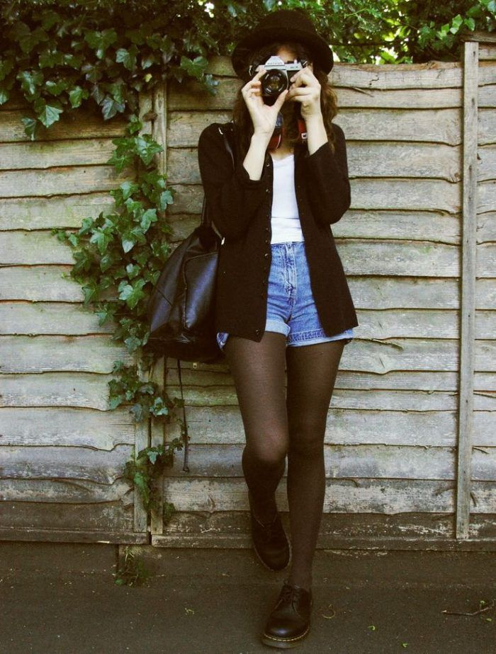 Best 25  Shorts with tights ideas only on Pinterest | Hipster ...