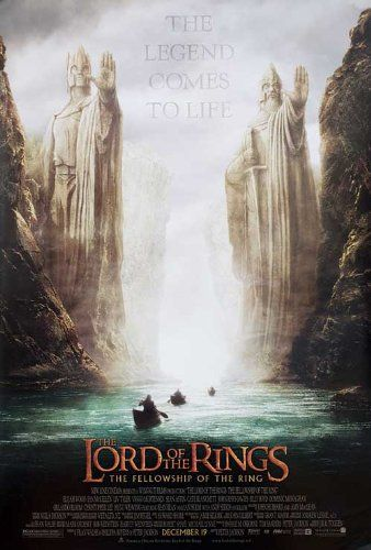 The Lord of the Rings: The Fellowship of the Ring 2001 Original USA Movie Poster Jeff Pobst Tom Kane @ niftywarehouse.com #NiftyWarehouse #LOTR #LordOfTheRings #Movies #Geek #Nerd #Books #Fantasy
