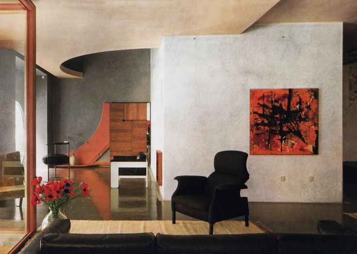 Carlo scarpa circa 1962 living room pinterest design carlo scarpa and bologna - Interior design bologna ...