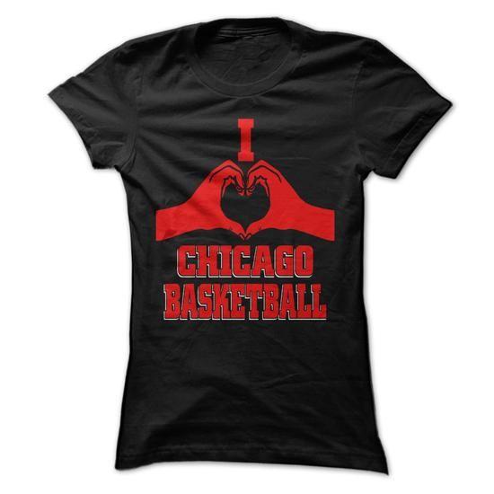 I heart chicago basketball T Shirts, Hoodies, Sweatshirts. GET ONE ==> https://www.sunfrog.com/States/I-heart-chicago-basketball-.html?41382