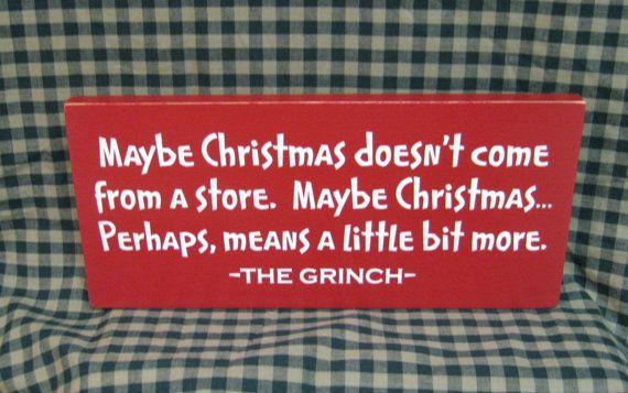 Grinch primitif signe de Noël peutêtre Noël par HeritagePrimitives
