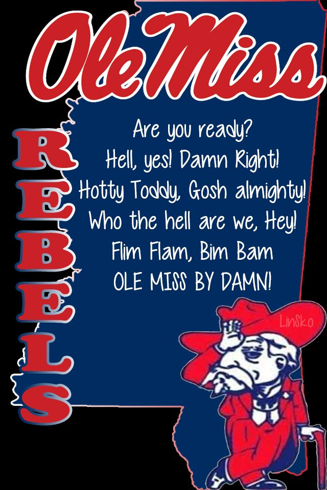 iPhone 4/4s Ole Miss Wallpaper
