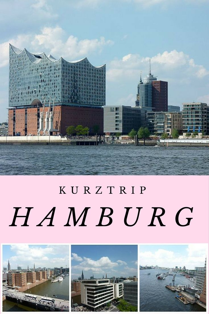 Drei Tage Hamburg - ein Kurztrip mit Elbphilharmonie, Hafenrundfahrt, Musical und einiges mehr.  #Hamburg #Travel #Reisebericht