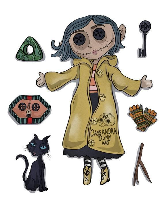 Pin By Tonia Monahan On Drawing In 2020 Coraline Tattoo Coraline Drawing Coraline Art