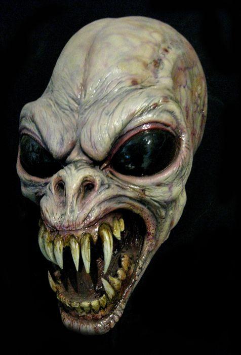 halloween mask chupacabra fun halloween costumes pinterest halloween masks halloween and masks - Alien Halloween Masks