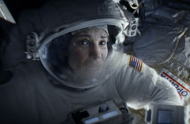 'Gravity' review: try not to scream. Director Alfonso Cuarón proves that the scariest world in sci-fi is our own #Hollywood #Movies #GravityMovie