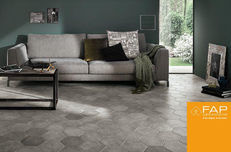 New #design #combinations that evoke the beauty of Italian artisan #heritage. Floor #Firenze #Grey