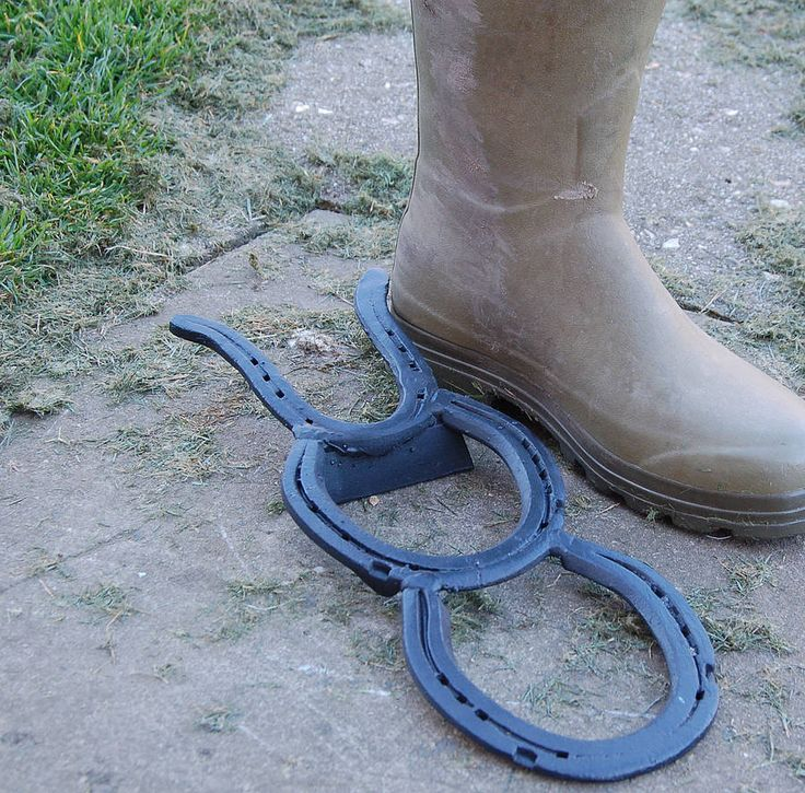 if i could find old horse shoes....