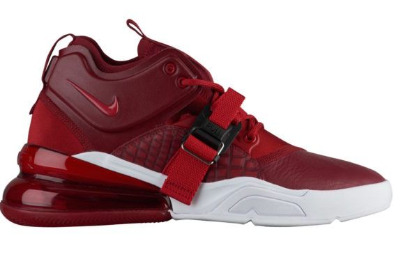 best service 107b5 e4d85 Nike Air Force 270 Releasing In Red White The new Nike Air Force 270 just  released