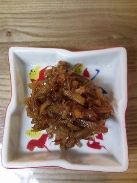 【簡単】ピリリと美味しい生姜の佃煮
