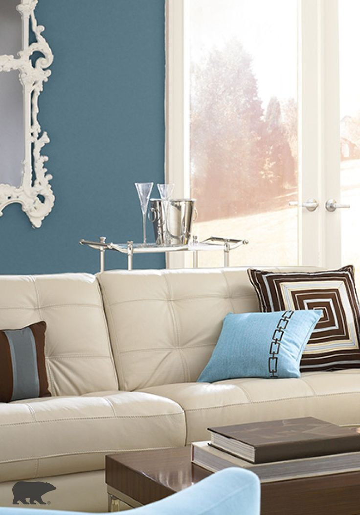 Interior Design Furniture Bold Colors ~ Expert design tip opt for neutral furniture and bold wall