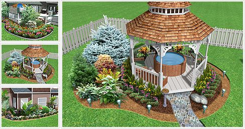 Garden Design Software - Winner of the TopTEN award for best landscape software. Realtime Landscaping Plus 2016 is the perfect software for visualizing your landscape design ideas. Only $79.95.