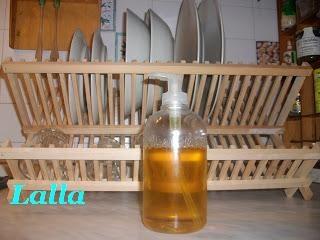 Detergente liquido per i piatti  <3