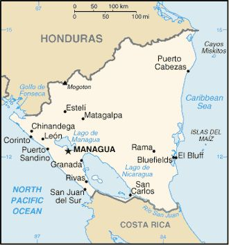 1962–1990 NICARAGUA: 28-year Nicaraguan Revolution encompassed rising opposition to Somoza dictatorship in the 1960s & 1970s led by the Sandinista National Liberation Front (FSLN) to oust the dictatorship in 1978–1979, the FSLN efforts to govern from 1979-1990 & the Contra War which was waged between the FSLN & the Contras from 1981-1990.  Wikipedia.