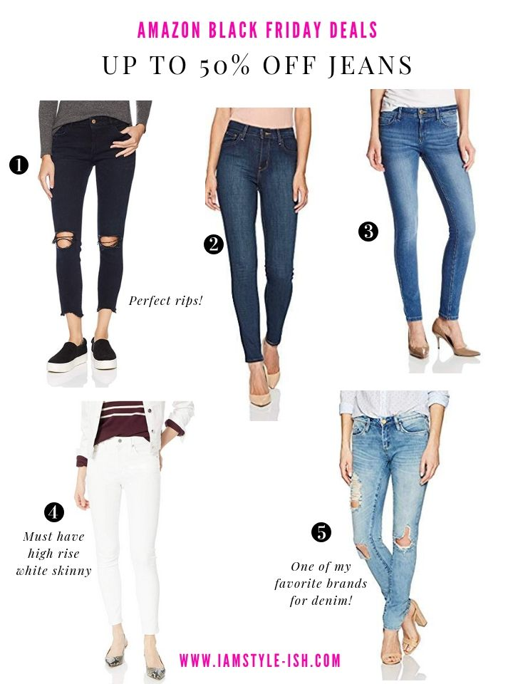 4 Amazon Black Friday Deals You Don T Want To Miss Best Jeans For Women Amazon Black Friday Women Jeans