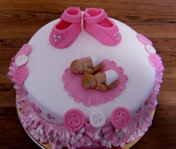 twin girls for girls baby shower cakes project on shower party