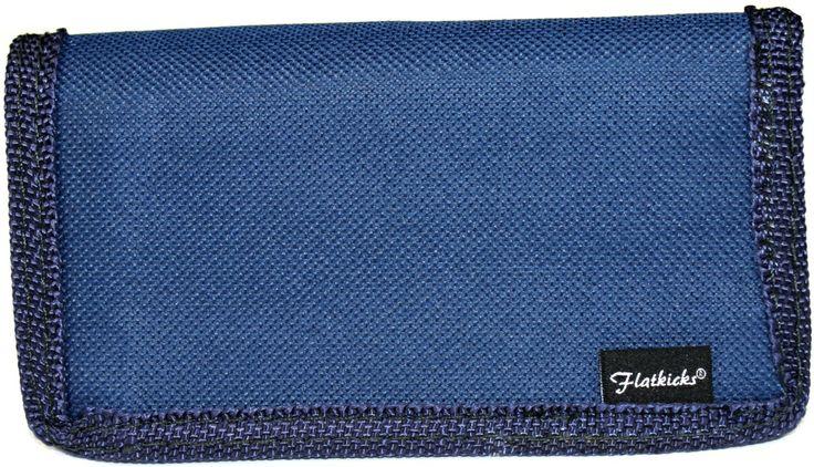 Flatkicks, wallet, blue www.flatkicks.com