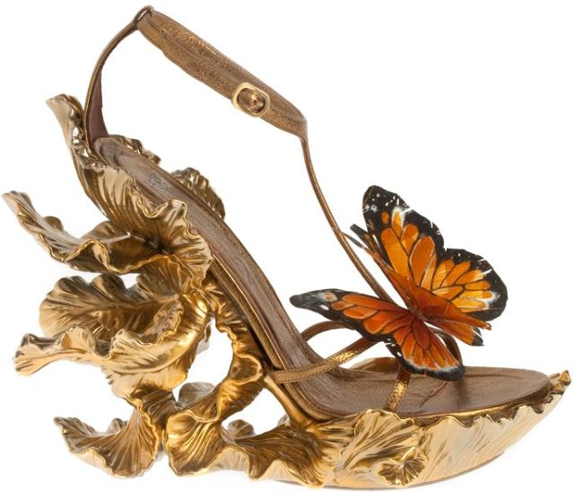 Alexander McQueen Monarch Wedges