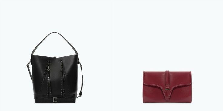 Citybag, tracolle e pochette di varie dimensioni e ideali per tutti i look vi aspettano nel catalogo Zara per la stagione Inverno 2014-15. http://www.stilemagazine.it/borse-zara-inverno-2014-15/