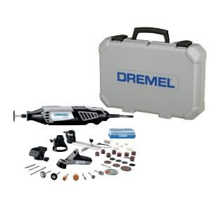 Dremel 4000 Series 1.6 Amp Corded Variable Speed Rotary Tool Kit with 38 Accessories and Hard Carrying Case 4000-4/34 at The Home Depot - Mobile