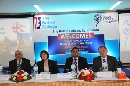 The British College (TBC) welcomes a very high profile delegation from Leeds Beckett University, UK to discuss the direction, development, planning and continuing strategy of the college and university.