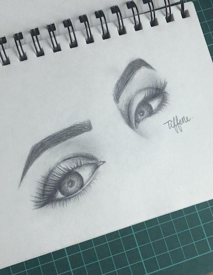 Augenzeichnung von Tiffene Larose