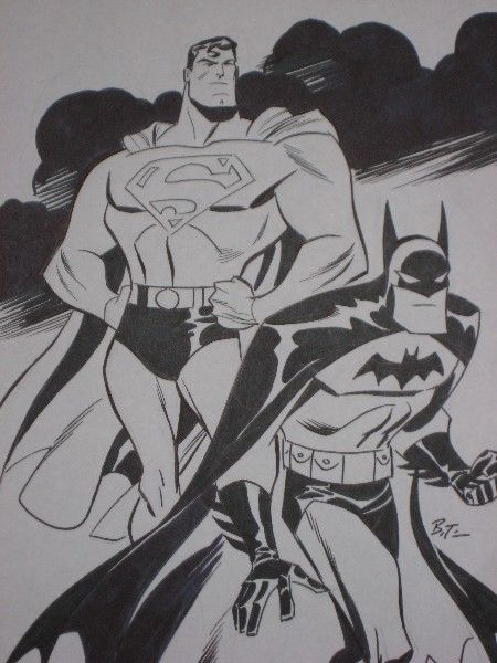 Bruce Timm's World's Finest by ~theirishgrover on deviantART