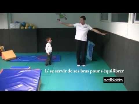 Exercices d'équilibre pour enfants de 3 à 5 ans : La poutre