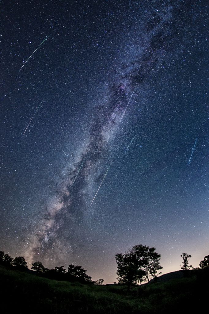 ペルセウス座流星群*1 -流星雨-の写真(画像) 写真ID:2714137- 写真共有サイト:PHOTOHITO
