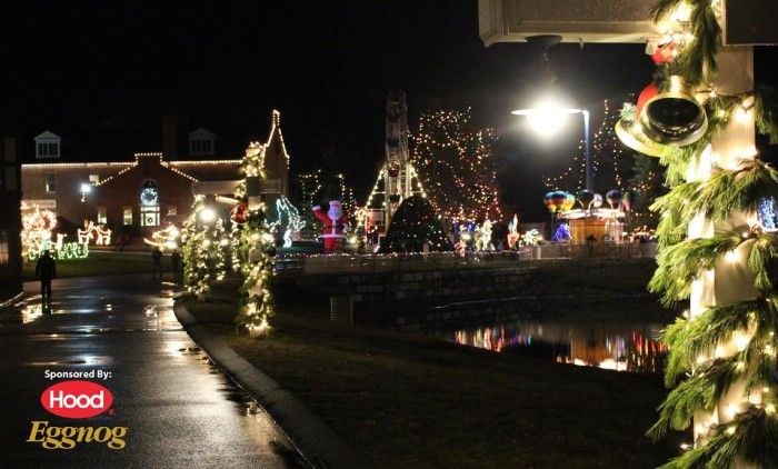 Why I LOVE Edaville USA In Carver MA Best Place To Visit At - Best places to vacation at christmas time