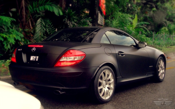 flatblack Mercedes benz, Black flats, Benz