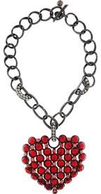 LanvinCrystal heart necklaceLanvin Crystals, Fashion, Crystals Heart, Colors Bling, Lanvin Cryst Heart, Heart Necklaces, Necklaces Nets A Porter Com, Jewelry, Accessories