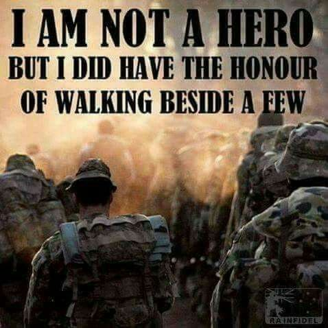 Do not call me Hero...I was doing my job, fighting the war I do not want my son to fight...