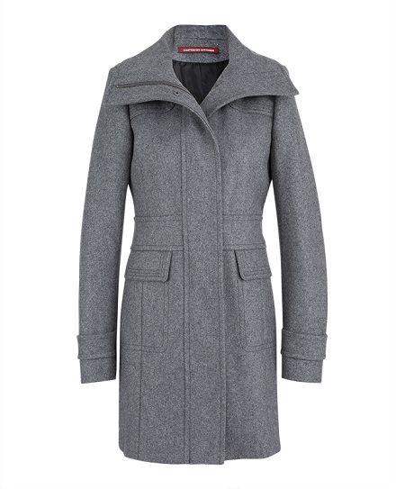 Wool coat | Coats and jackets | Comptoir des Cotonniers