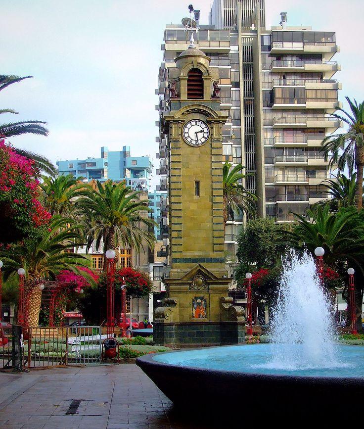 Torre del Reloj de la Plaza Colón de Antofagasta