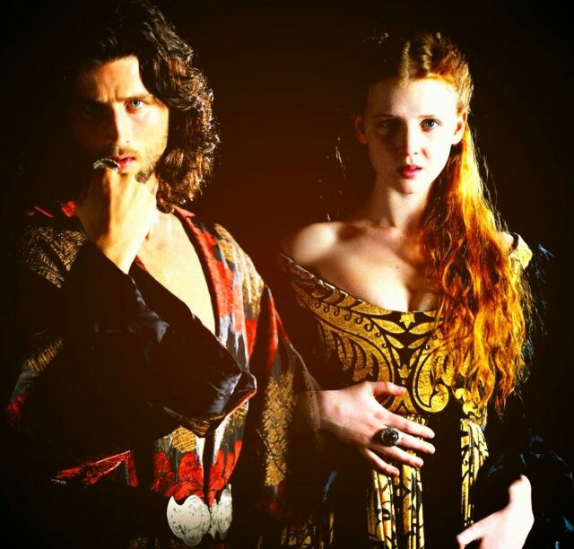 Those outfits - cesare and lucrezia Borgia faith and fear