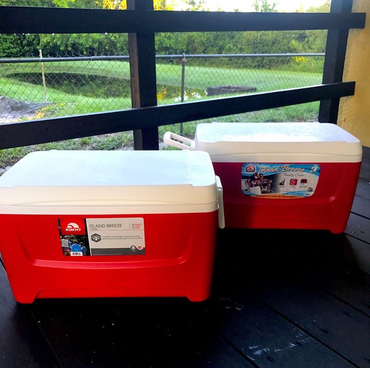 With 90 degrees average temperatures in June and even hotter in July our job coordinators will be stocking their trucks every morning with ice water and electrolyte drinks to ensure that our crews on the field stay hydrated and safe. #orlando #roofing
