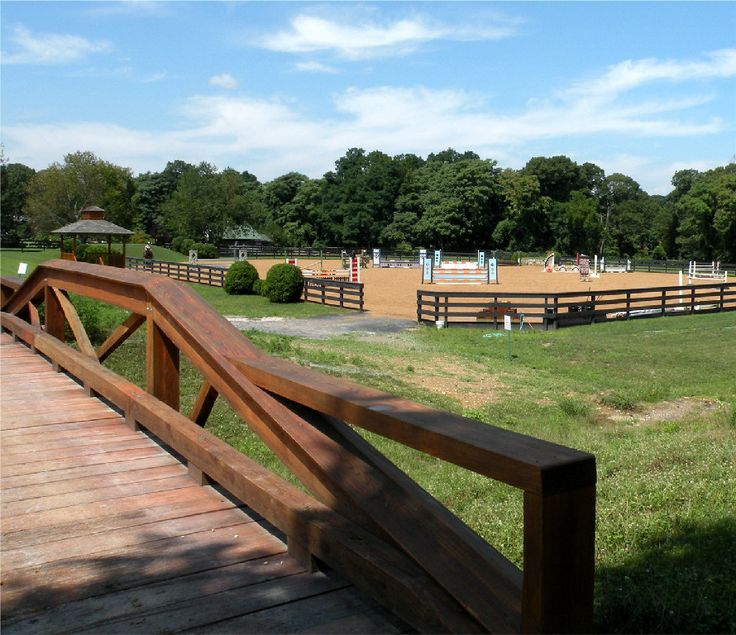 Outdoor Arena With Rounded Corners And Bottom Board All