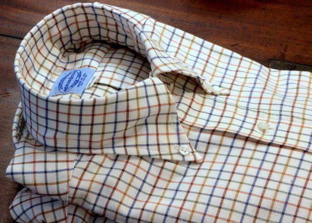 Salt Water New England: Tattersall Shirts and Moleskins