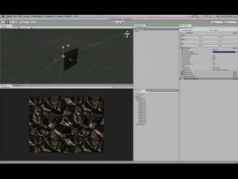 Dynamically Chaning Materials In Unity3d - YouTube