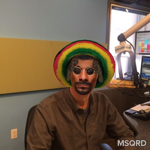 We're having WAY TOO MUCH FUN with the #MSQRD app!
