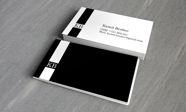 Quick design of business card for my husband:) #businesscard #blackandwhite #design #simple #cleandesign